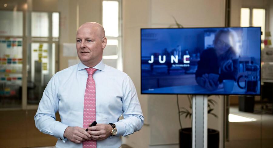 Tonny Thierry Andersen, der ertidl. ansvarlig for Danske Bank Wealth Management fortalte om Danske Banks investeringsløsning June. Torsdag den 4. maj 2017.