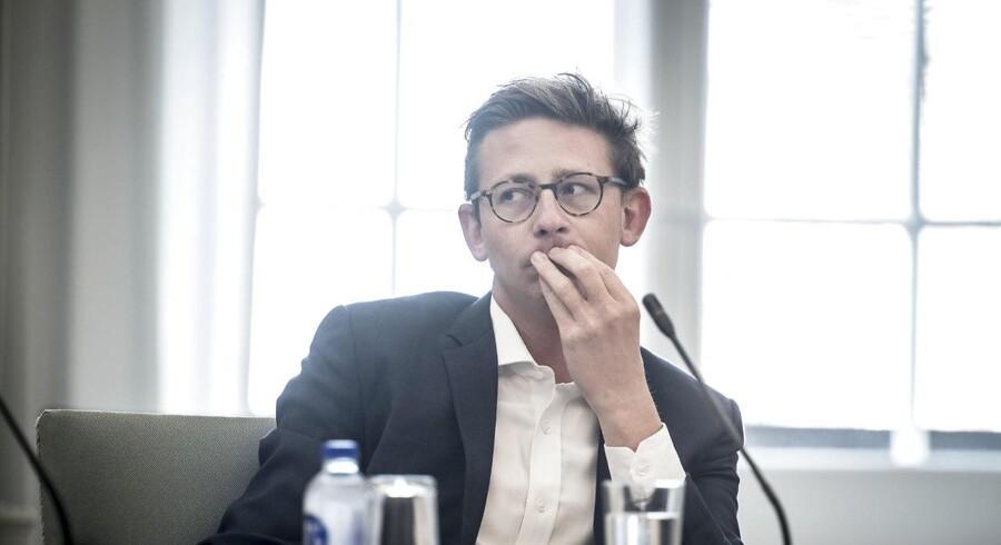 Skatteminister Karsten Lauritzen (V) (Arkivfoto: Mads Claus Rasmussen/Ritzau Scanpix)