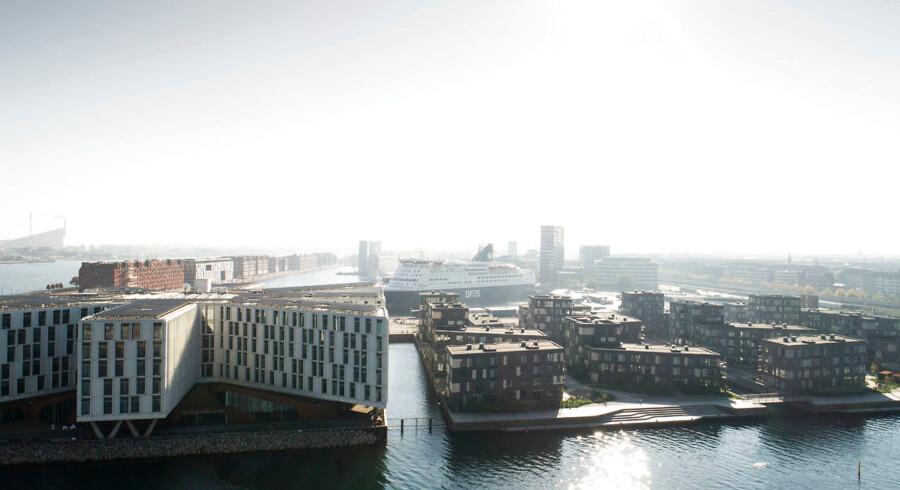 Provinsbankerne har været så ivrige efter at komme ind og finansiere væksten på det københavnske boligmarked som her i Nordhavn, at de har lånt ud til kunder, der har en for høj gældsfaktor.