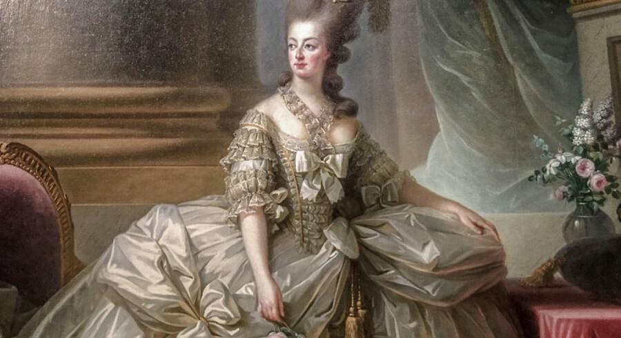 Historiske malerier blev bruggt til at verificere ægtheden af Marie-Antoinettes smykkesamling.