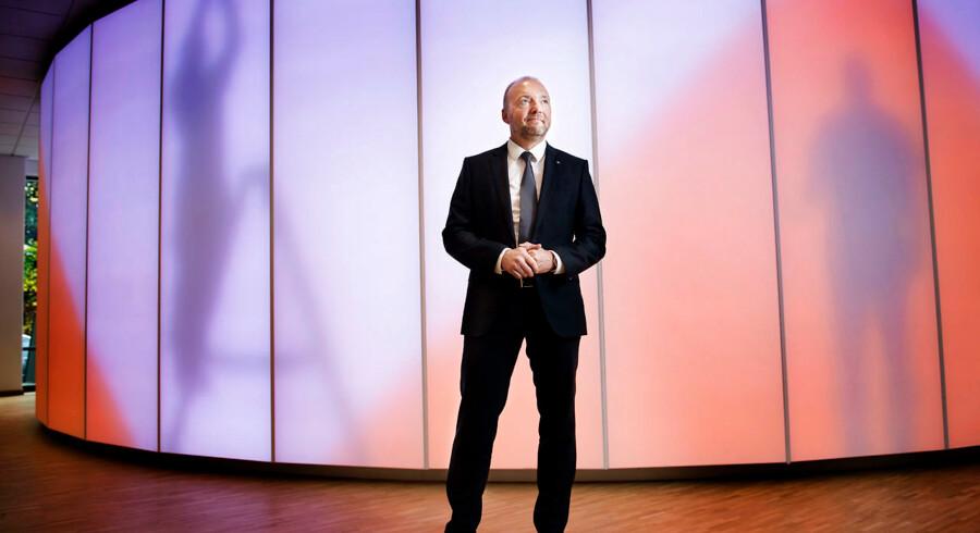 Administrerende direktør for ISS, Jeff Gravenhorst, offentliggjorde tidligere på ugen servicevirksomhedens nye strategi om at frasælge aktiviteterne i 13 lande. PR-foto