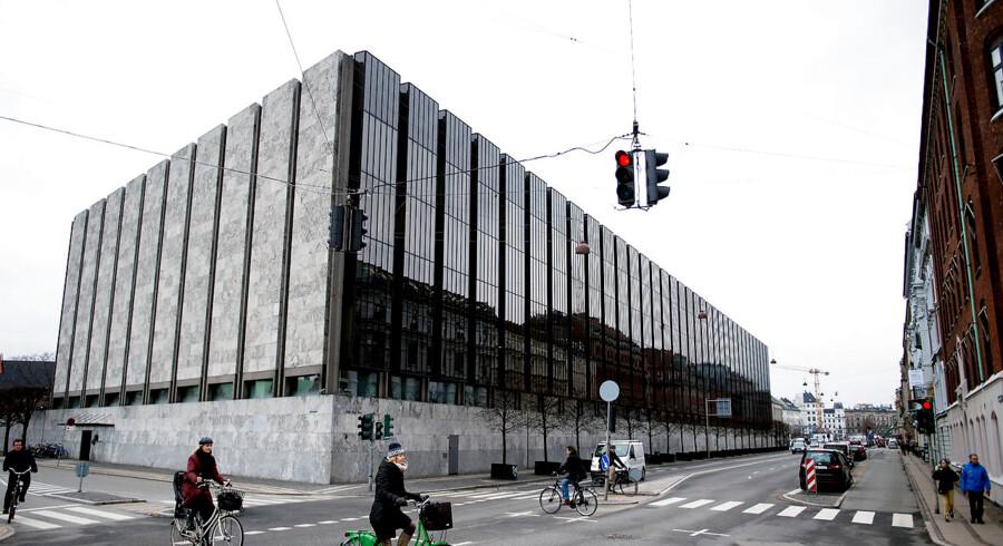 Nationalbanken er blevet et mausoleum for tomme og forstokkede ideer. Foto: Liselotte Sabroe/Ritzau Scanpix