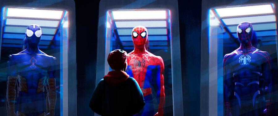 Med store kræfter følger et stort ansvar. En ny historie er ved at begynde i »Spider-Man: Into the Spider-Verse«. Foto: UIP