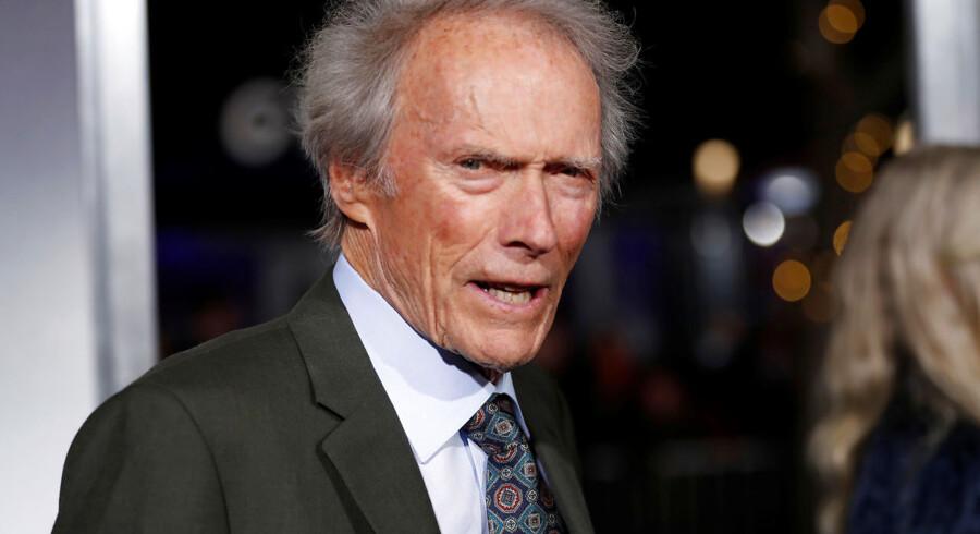 Den 88-årige Clint Eastwood beskyldes for at gøre racismen stueren. Her ses han til den amerikanske premiere på »The Mule«, som mange regner med er hans sidste spillefilm. REUTERS/Mario Anzuoni