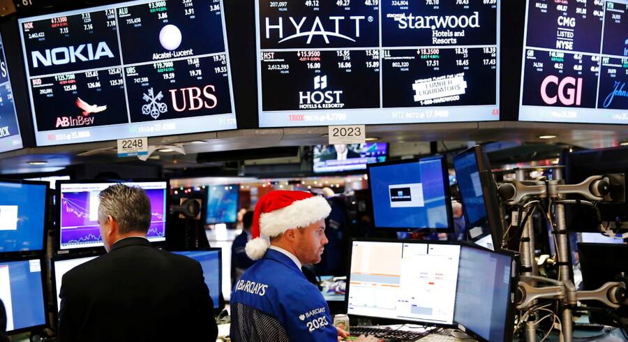 Sidste handelsuge før julen byder på rentemøde i USA og nøgletal fra Danmarks Statistik.