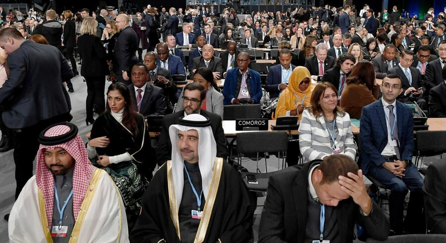 Kloden er på klimatisk katastrofekurs. Formår forhandlere og ministre fra næsten 200 lande på klimakonferencen COP24 i Katowice i Polen at afværge katastrofen? Ikke som det så ud torsdag aften.