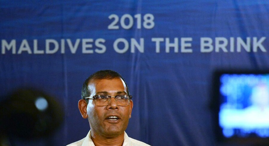 Mohamed Nasheed, den havtruede ønation Maldivernes tidligere præsident og nuværende chefklimaforhandler: »Maldiverne har ingen intentioner om at dø. Vi gør alt, hvad vi kan, for at holde hovedet oven vande.«