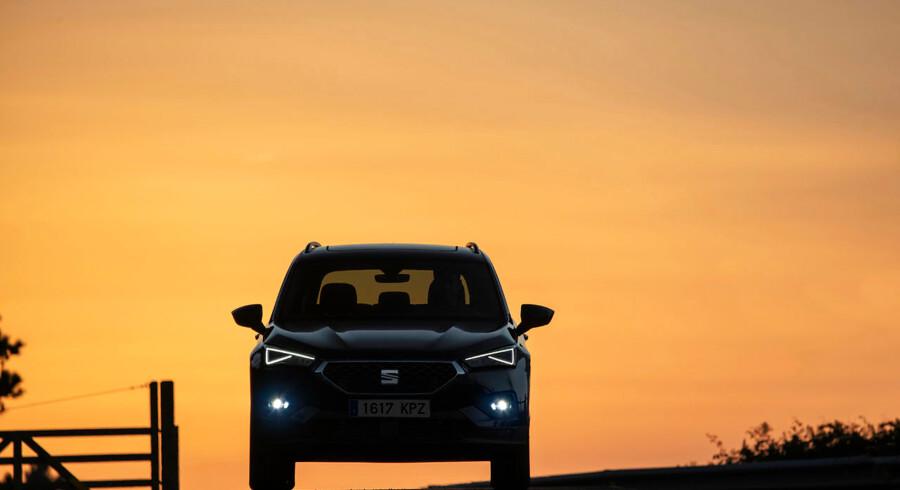 LED-striberne i lygterne er karakteristisk Seat, men resten af bilen er ikke lige så skarp og karakterfyldt designet som lillebroderen Seat Ateca. Men den nye Terraco er større, lækrere og mere komplet end nogen Seat før den.