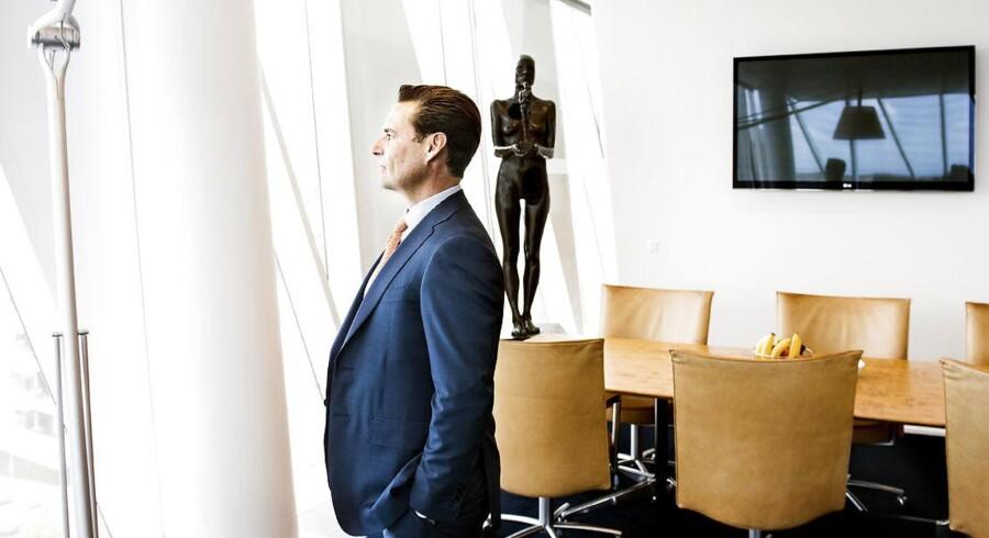 Direktør og medejer af Saxo Bank Kim Fournais er i færd med for alvor at tage banken ud på et nyt forretningsområde med et milliardstort opkøb af hollandsk bank.