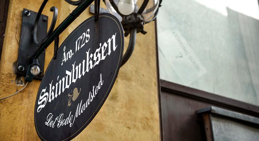 Skindbuksen har eksisteret siden 1728 og er så vidt vides Danmarks næstældste værtshus. Arkivfoto.