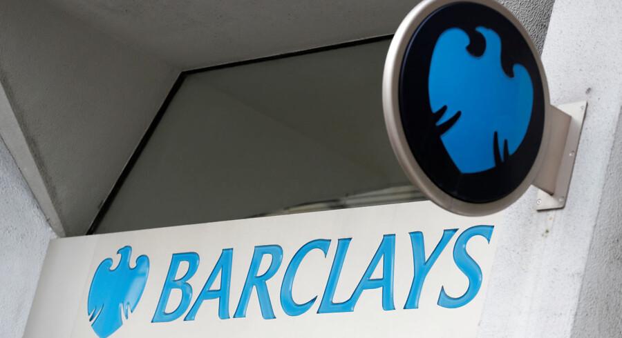 Barclays modtager bøde på 15 mio. dollar. Arkivfoto.
