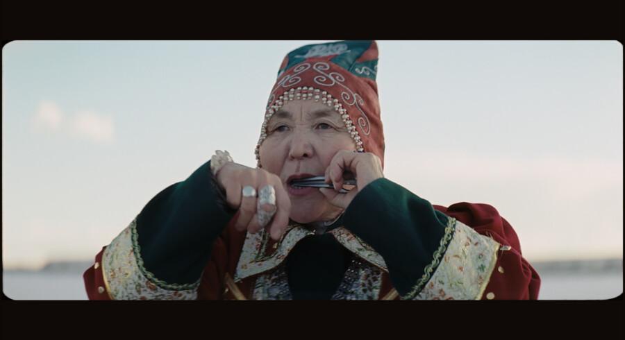 Sedna spiller en hyldest til fjeldene og isen i den rørende »Aga«. PR-foto