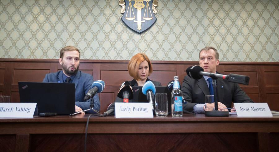 På et pressemøde i Tallinn onsdag oplyste den estiske anklagemyndighed, at ti personer er blevet anholdt i Danske Banks hvidvasksag.