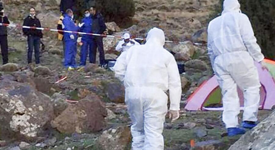 Danske Louisa Vesterager Jespersen og norske Maren Ueland blev mandag fundet dræbt i deres telt ved foden til Toubkal-bjerget i Marokko.