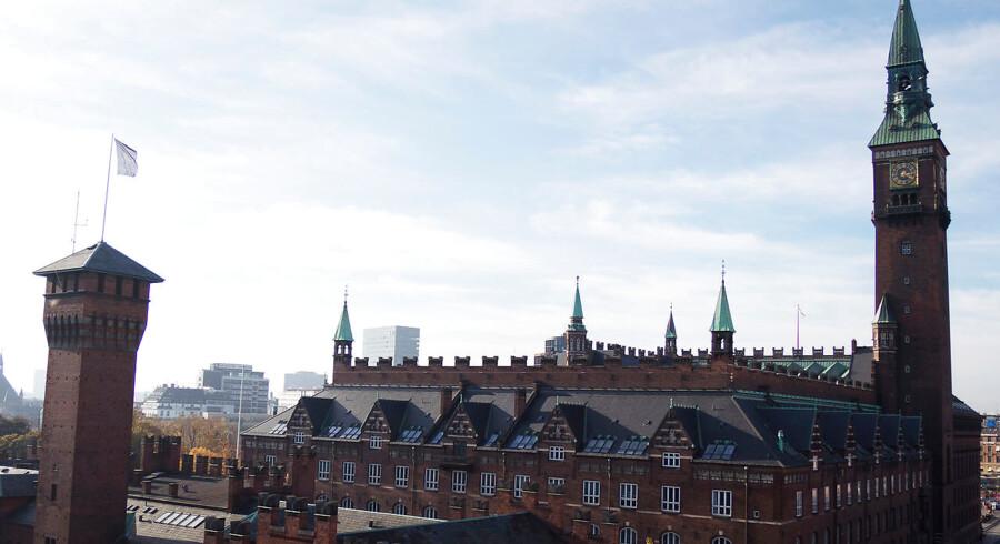 Arkivfoto. Københavns ældste kirke fra mellem år 1000 og 1100 er fundet, da gravere fandt en støbeform på Rådhuspladsen.