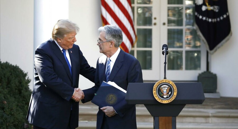 Alt var fryd og gammen, da præsident Trump præsenterede sin kandidat til formandsposten i Federal Reserve. Nu er tonen en helt anden.