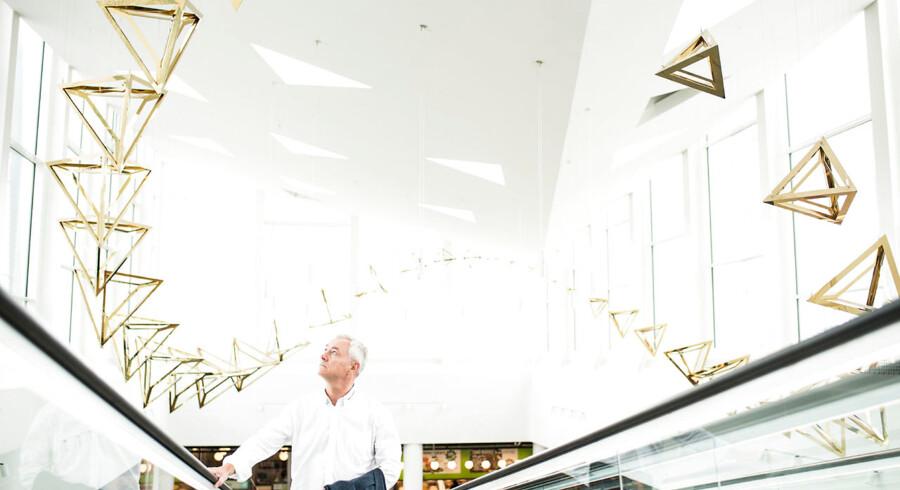 Jesper Andreasen afblæser nu salget af Rødovre Centrum, der blev startet af hans morfar.