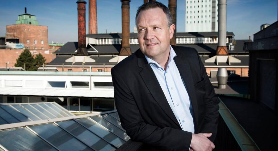 (Arkivfoto) Adm. direktør Jens Nyhus står i spidsen for Danmarks største developervirksomhed, Carlsbergbyen, som er etableret af en række pensionsselskaber sammen med Carlsberg Group.