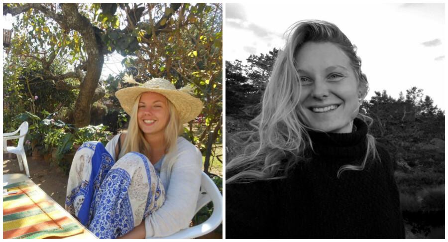 Norske Maren Ueland (t.v.) og Louisa Vesterager Jespersen (t.h) blev fundet dræbt. Foto: Facebook.