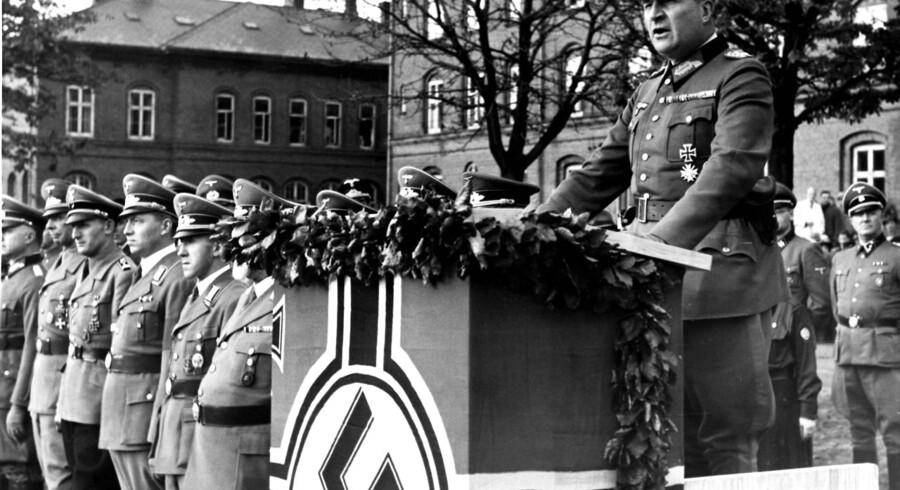 Hermann von Hanneken, 1890-1981, tysk general, øverstkommanderende for de tyske tropper i Danmark oktober 1942 til jan. 1945.