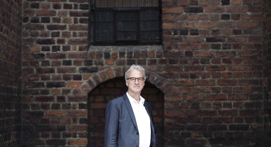 Jens Chr. Hansen fotograferet til Business-sommerserien, hvor journalisterne skriver om sig selv.