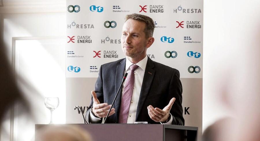 Finansminister Kristian Jensen, Venstre..