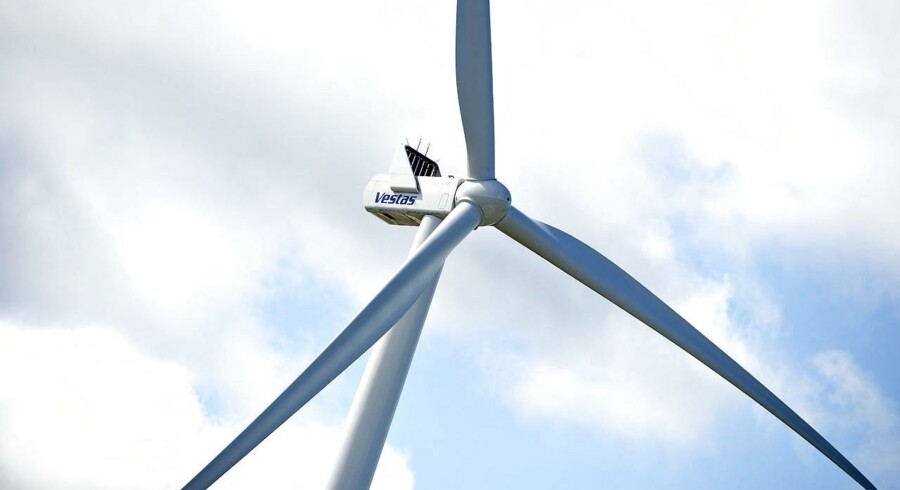 På trods af den susende vækst står markederne dog kun for 4 pct. af salget for den danske vindmølleproducent Vestas. Arkivfoto.