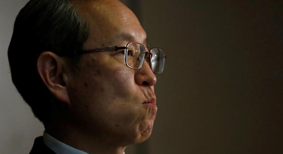 Arkivfoto. Store problemer ramler ned over den japanske industrikoncern Toshiba, som står foran et gigantisk underskud.