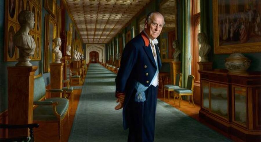 Ralph Heimans maleri af prins Philip, der næste år kan ses på Frederiksborg Slot.
