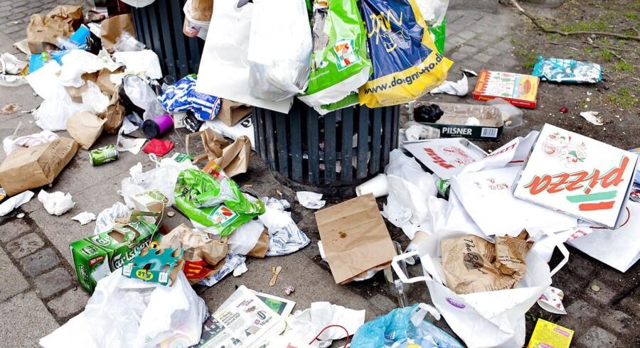 Regeringen vil svække EU-miljømål for affald.