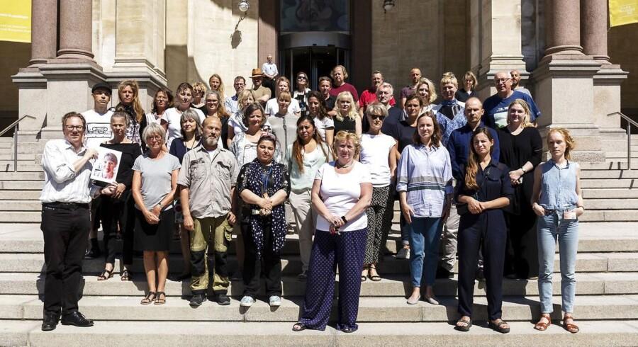 Medarbejderne på Statens Museum for Kunst, der har underskrevet kommentaren.