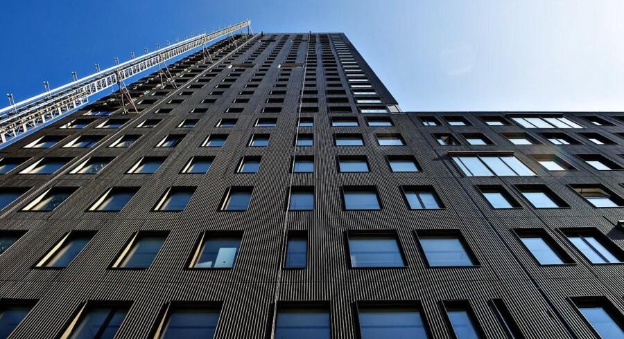 Bohrs Tårn, varetagnet for Carlsberg Byen.
