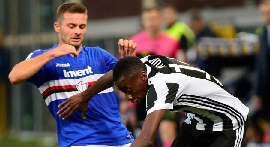 Juventus tabte søndag til Sampdoria og har nu fire point op til førerholdet Napoli i Serie A. Reuters/Stringer