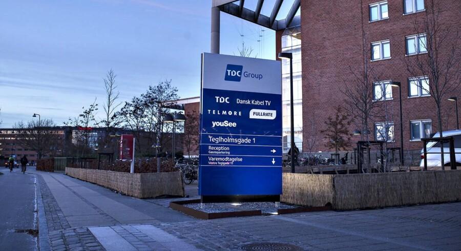 Arkivfoto. TDC har gennemført salget af TDC Hosting til Maj Invest Equity.