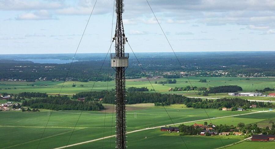 Teracom, som står for det danske radio- og TV-net, skal nu udbygge det danske forsvars kommunikationsnet. Foto: Teracom