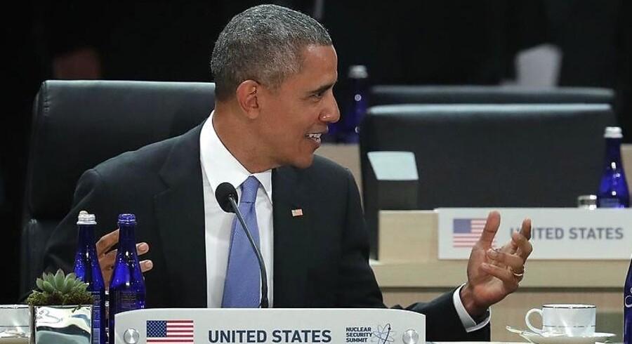 Præsident Barack Obama vil gerne nedbringe USAs beholdning atomvåben yderligere, fortalte han efter fredagens afslutning på det internationale atommøde i Washington, men han regner ikke med, at det kommer til at ske på hans vagt.