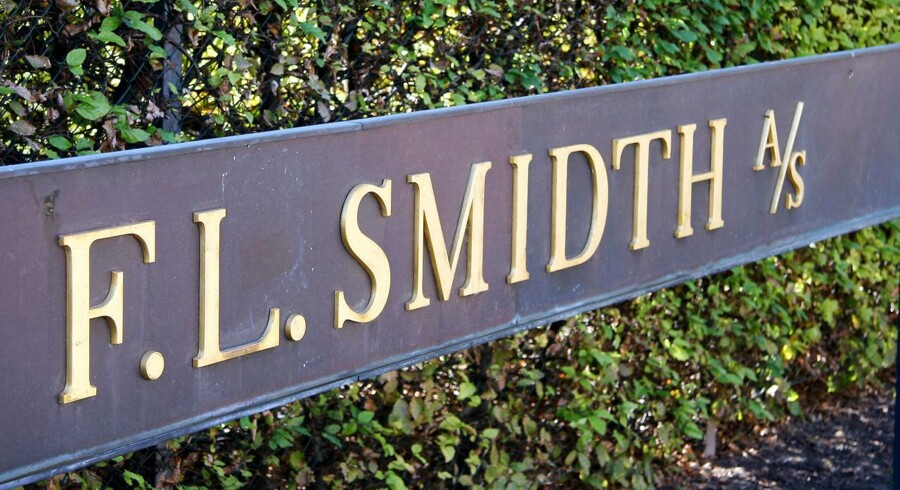 F. L. Smidth A/S logo i Valby