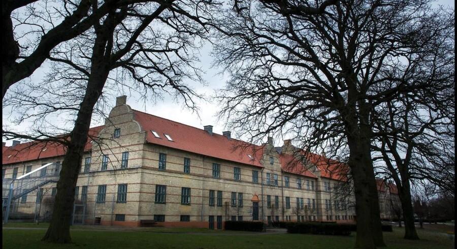 Arkivfoto: Personalet på Psykiatrisk Hospital i Risskov, Aarhus, kan ikke længere stå inde for kvaliteten af behandlingen på stedet.