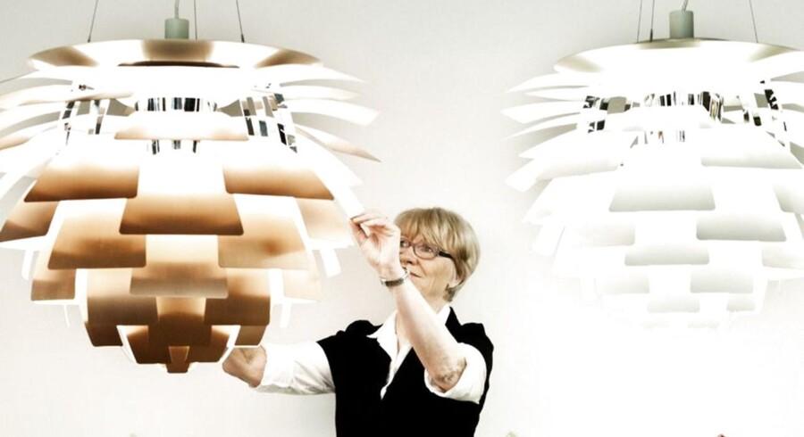 Artikel om belysning til Urbans boligtillæg. Interview med forfatter til bogen 'Sans for lys' og medarbejder hos Louis Poulsen, Lisbeth Mansfeldt.