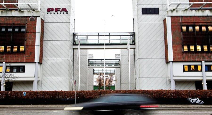 Aktieuro straffer PFA.