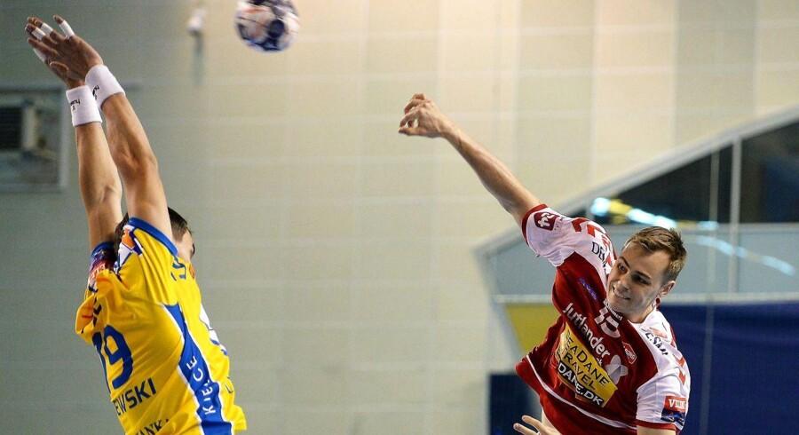 Aalborg Håndbold leverede en flot kamp mod Veszprem, der må rejse hjem til Ungarn med et nederlag på tre mål.