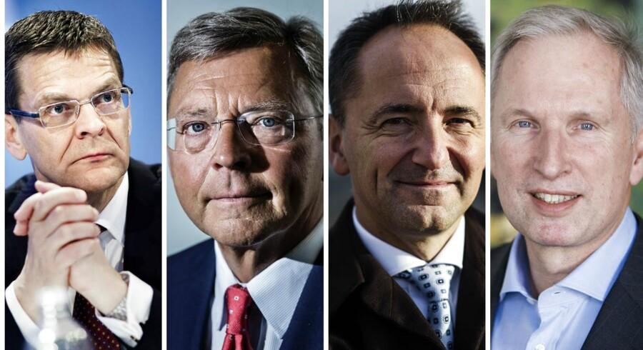 Ole Andersen, Christian Clausen, Jim Hagemann Snabe & Christian Frigast.