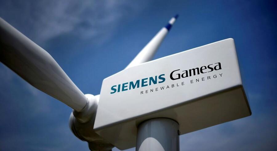 Arkivfoto: Det blev i sidste ende tyske Siemens Gamesa, der blev valgt som leverandør til de tre kommende danske havvindparker ved Vesterhavet og på Østersøen.