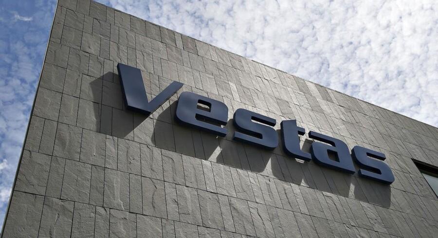 Arkivfoto. Vestas var tilbage på førstepladsen blandt verdens vindmølleproducenter i 2016.