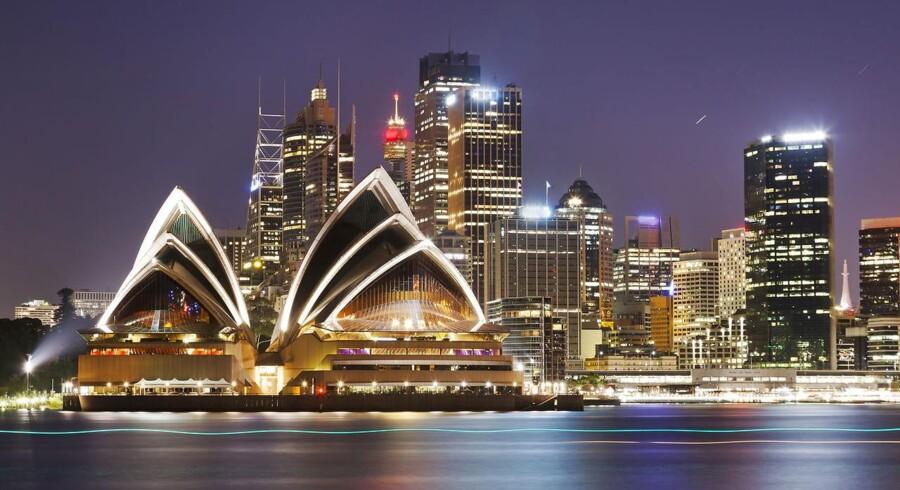 Den australske økonomi er i vækst.