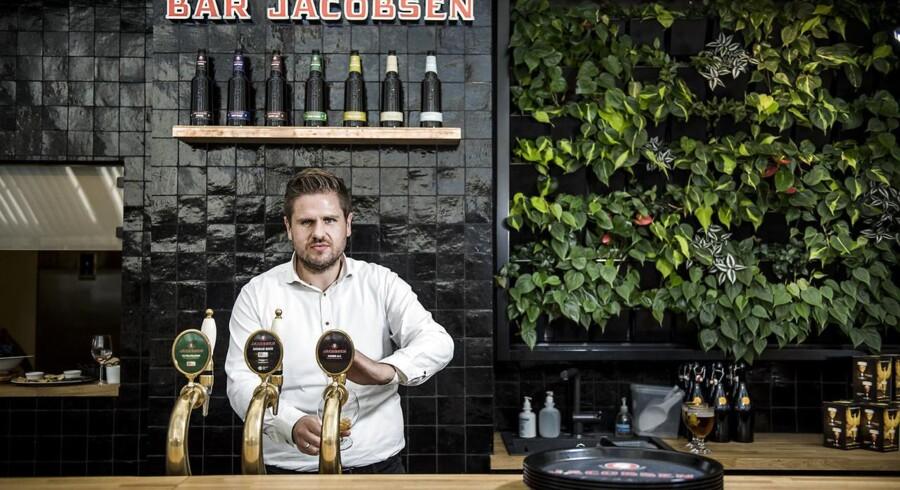 Simon Fibiger, ny chef med ansvar for salg til barer og restauranter hos Carlsberg i Danmark.
