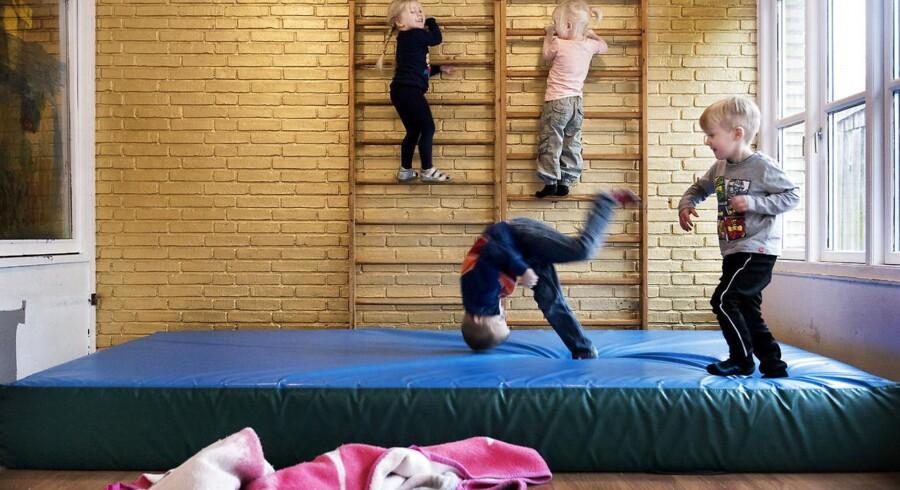 Arkivfoto fra Vognmandsparkens Børnehave i Roskilde.