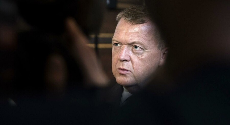 Statsminister Lars Løkke Rasmussen holder oplæg om regeringens 2025-plan på Københavns Universitet torsdag d. 1 september 2016.. (Foto: Malene Anthony Nielsen/Scanpix 2016)
