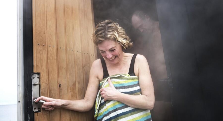Wellnessbølgen og det stigende antal vinterbadere i Danmark har gjort saunaen mere populær i dag end i 70erne. Foto: Sofie Mathiassen
