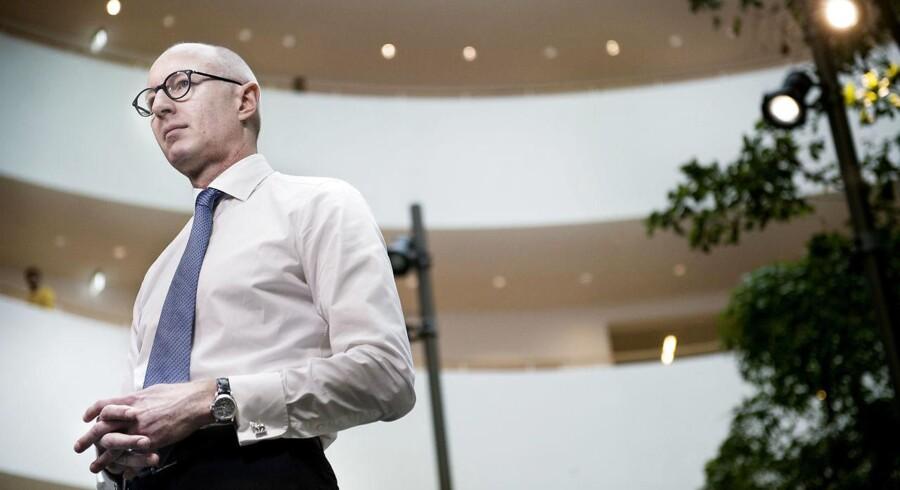 Novo Nordisks topchef Lars Fruergaard Jørgensen